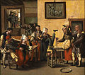 Brunswick Monogrammist - An Inn with Acrobats and a Bagpipe Player.jpg
