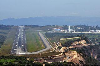Palonegro International Airport colombian airport in Bucaramanga in the departamento of Santander