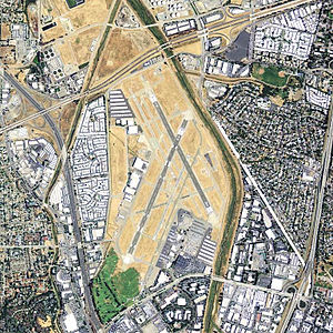 Buchanan Field Airport - USGS orthophoto, 2006