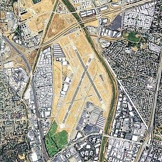 Buchanan Field Airport - USGS orthophoto, 2006