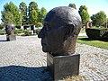 Bucuresti, Romania, Parcul Herastrau (Statuia lui Konrad Hermann Josef Adenauer); B-II-a-A-18802.JPG