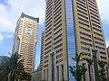 Buildings at west end of Guoxing Avenue - 02.jpg