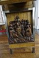 Buitenkerk Kampen, Woodcarving, Lectern, Jesus Christ Teaching the Crowd.jpg