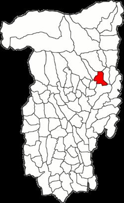 Vị trí của Bujoreni