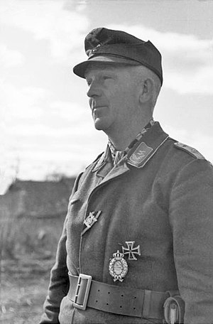 Luftwaffe Field Division - An Oberleutnant of a Luftwaffe Field Division in Russia, March 1942