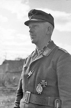 Luftwaffe Field Division - An Oberleutnant of a Luftwaffe Field Division in Russia, March 1942
