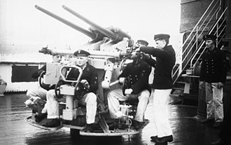 3.7 cm SK C/30 - 3.7 cm SK C/30 on a Dopp L C/30 stabilized mount