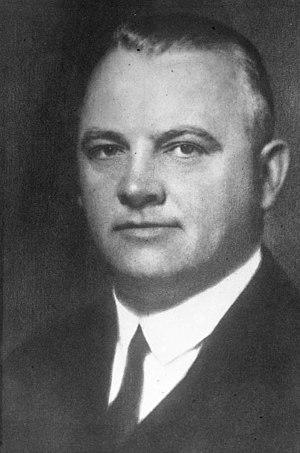 Hermann Schmitz - Hermann Schmitz in 1931