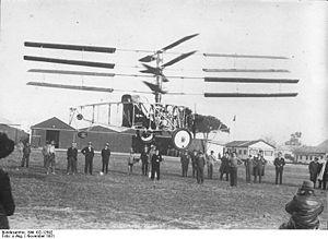 Raúl Pateras Pescara - Pescara helicopter 4S (1931)