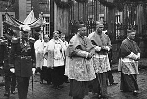 Catholic resistance to Nazi Germany - Bishop Clemens August von Galen October 1933