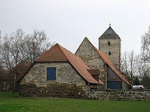 Steuerwald Castle, Hildesheim - General view from the North.