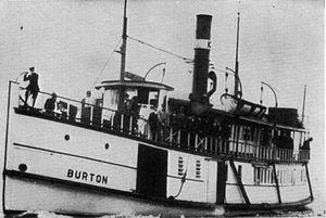 Burton (steamboat) - Image: Burton (steamboat)