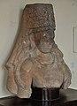 Bust of Vishnu with Kirit Mukut - Gupta Period - Jamalpur - ACCN 80-22 - Government Museum - Mathura 2013-02-23 4981.JPG
