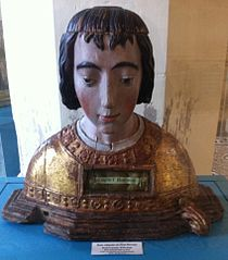 buste-reliquaire de saint Florentin à Troyes