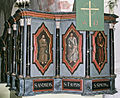 Buttle kyrka Pulpit paintings.jpg