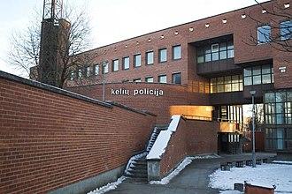 Corruption in Lithuania - Image: Buvęs policijos komisariatas Vilniuje 1