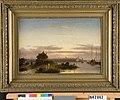 C.H.J. Leickert - Riviermonding met stad in verschiet - NK2062 - Cultural Heritage Agency of the Netherlands Art Collection.jpg