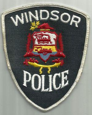 Windsor Police Service - Image: CANADA ONTARIO Windsor police