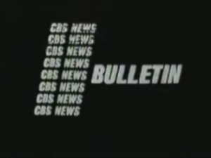CBS News - CBS News Bulletin covering the assassination of John F. Kennedy.