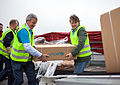 CEO Bjørn Kjos and Bernt G. Apeland, Secretary General in UNICEF Norway.jpg