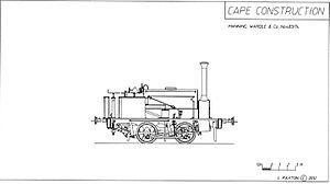CGR 0-4-0ST 1874