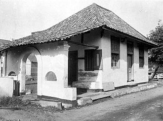 "Jamiat Kheir - The ""Zawiyah"" Musholla in Pekojan. Cir 1910-1921"