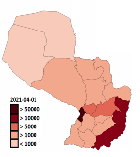 2020 coronavirus pandemic in Paraguay