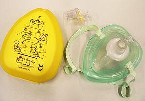 Laerdal - A Norwegian-made Laerdal CPR mask.