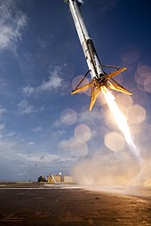 crs 6 first stage booster landing attempt on just read the instructions
