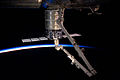 CRS Orb-2 Cygnus 3 S.S. Janice Voss berthed to ISS (ISS040-E-069182).jpg