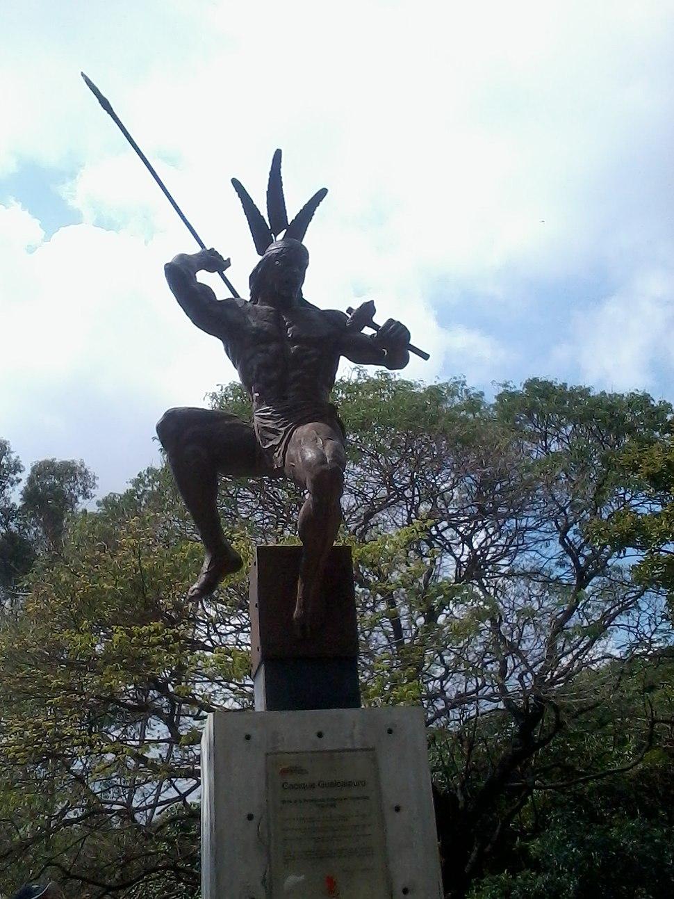 Cacique Guaicaipuro.