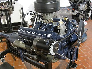 Cadillac V8 engine Motor vehicle engine