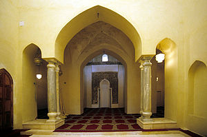 Restored interior of the mosque