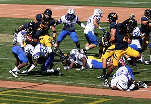 2011 California Golden Bears football team - The Cal offense against Presbyterian
