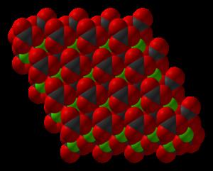 Manganese(II) carbonate - Image: Calcium carbonate xtal 3D SF