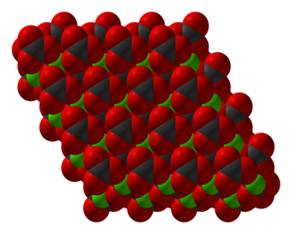 Manganese(II) carbonate - Image: Calcium carbonate xtal 3D SF
