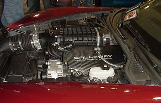 General Motors LS-based small-block engine V8 automobile engine made by General Motors