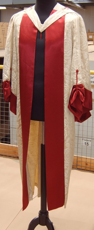 Academic dress of the University of Cambridge - The festal gown worn by Doctors of Music