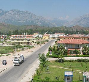 Çamyuva - Image: Camyuva view