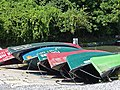 Canadian kayaks for hire - geograph.org.uk - 864943.jpg