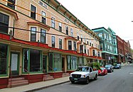 Canal Street from north, Bellows Falls