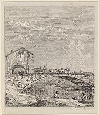 Canaletto, The Wagon Passing Over a Bridge, c. 1735-1746, NGA 780.jpg