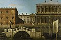 Canaletto (Venice 1697-Venice 1768) - Venice, Caprice View of the Zecca and Granaries with the Ponte della Pescaria - RCIN 405267 - Royal Collection.jpg