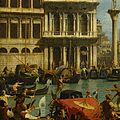 Canaletto - Bucentaur's return to the pier by the Palazzo Ducale - Google Art Project-x0-y1.jpg