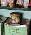 Canned food (Port Lockroy, Antarctica).jpg