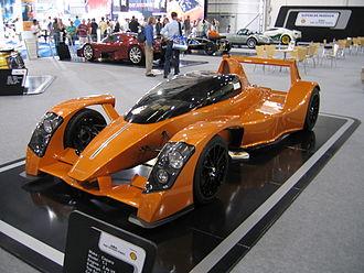 Caparo T1 - Image: Caparo T1 British International Motorshow 2006 195999165
