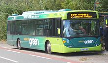 Capital City Green bus, Cardiff.jpg