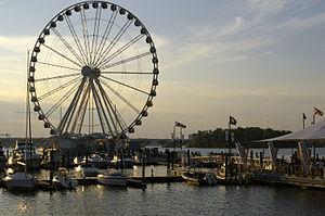National Harbor, Maryland - Capital Wheel, a Ferris wheel, at National Harbor