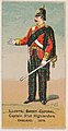 Captain, 91st Highlanders, England, 1879, from the Military Series (N224) issued by Kinney Tobacco Company to promote Sweet Caporal Cigarettes MET DPB874107.jpg