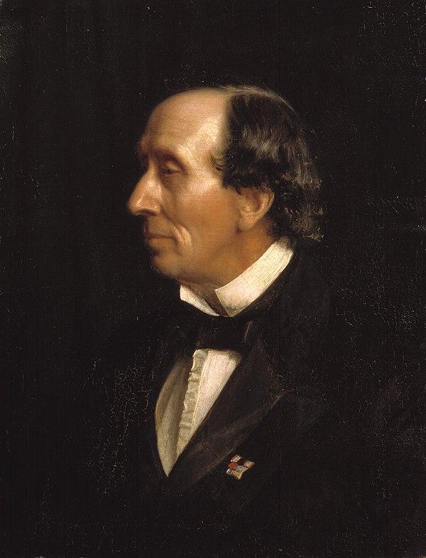 Photo Hans Christian Andersen via Wikidata